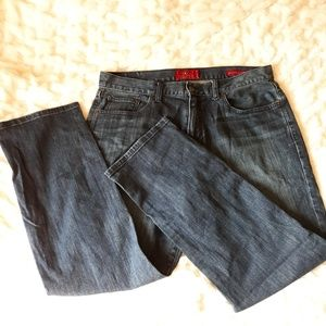 Lucky Mens 221 Original Straight Size 34W 30L